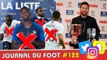 Pogba, Martial, Lacazette, Mendy... Tous forfaits ! Messi et Ibrahimovic récompensés