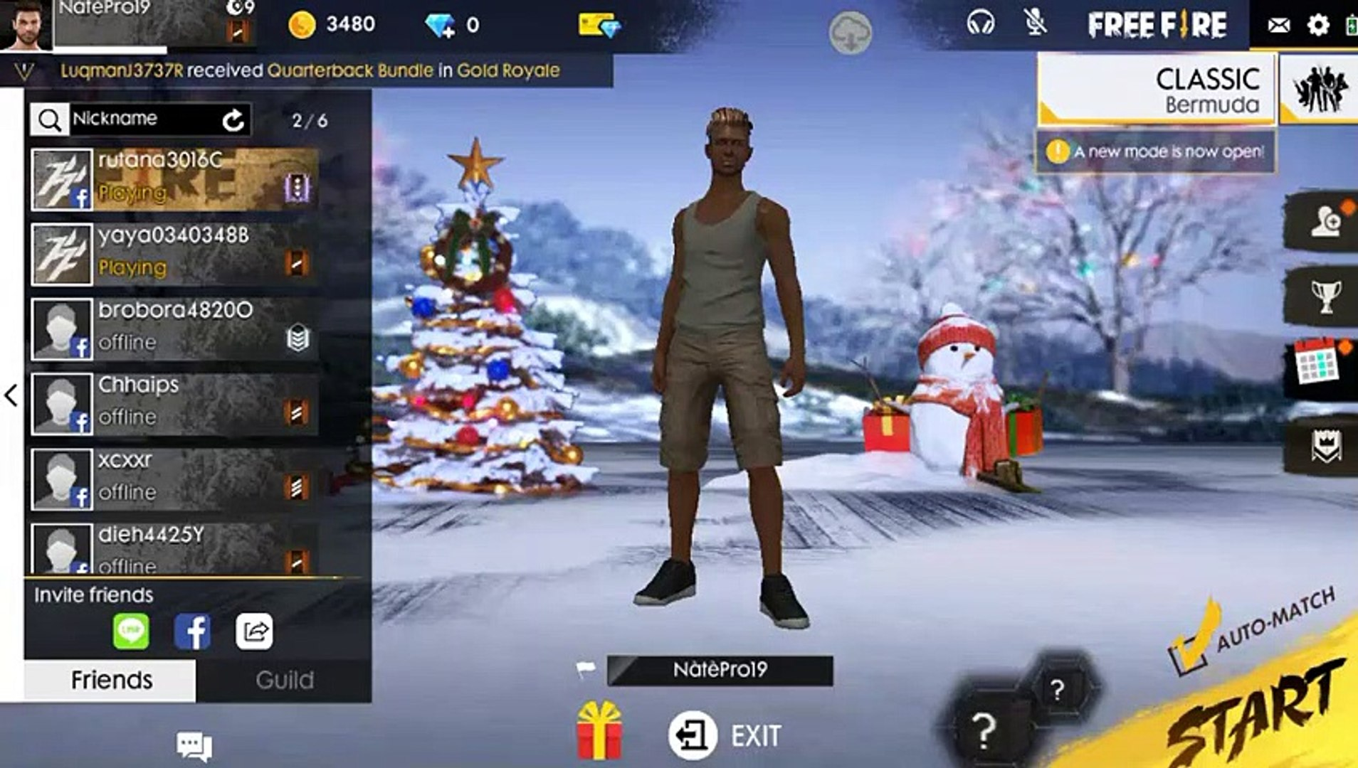 Garena Free Fire Gameplay By Pubg Live