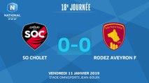 J18 : SO Cholet - Rodez Aveyron AF (0-0), le résumé