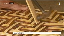 TH : Mahinatea Tata, maître du tressage de bambou