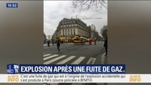 Explosion à Paris: deux hélicoptères de la sécurité civile se sont posés en plein cœur de la capitale