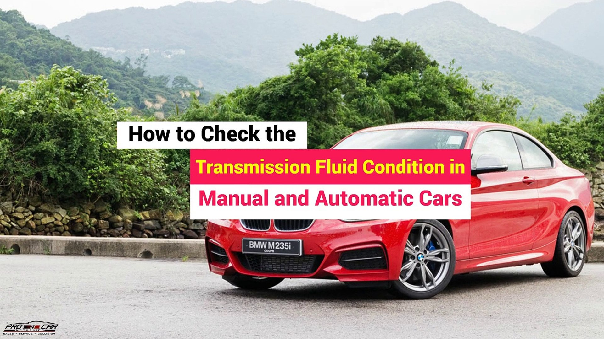 Check Transmission Fluid >> How To Check The Transmission Fluid Condition In Manual And Automatic Cars