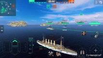 World of Warship Blitz #2 St. Louis USA Cruiser Warship Battle
