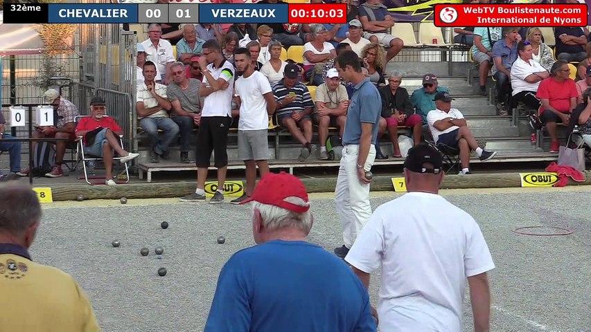 International de Nyons 2018 : 32e CANO vs CHEVALIER