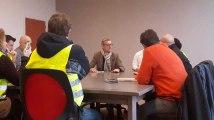 Braine-le-Comte: Jean-Jacques Flahaux à la rencontre des gilets jaunes