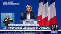 """Marine Le Pen fustige un Emmanuel Macron """"dérangeant dans ses attitudes"""" et """"incompétent dans ses fonctions"""""""