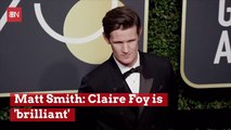 Matt Smith Backs Claire Foy Over Equal Pay For Actors And Actresses