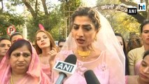 Transgender community protests against the Trans Bill passed in Lok Sabha