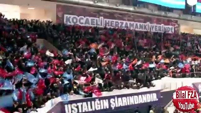Erdoğanın Konuşmasını Bağırtısıyla Bölen Çocuğa Tepkisi DEDEN GURBAN OLSUN Bİ DUR DA :))
