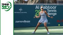 Belinda Bencic wins the 20th Al Habtoor Tennis Challenge in Dubai