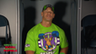 John Cena and WWE Superstars participating in (The Greatest Royal Rumble) in Jeddah