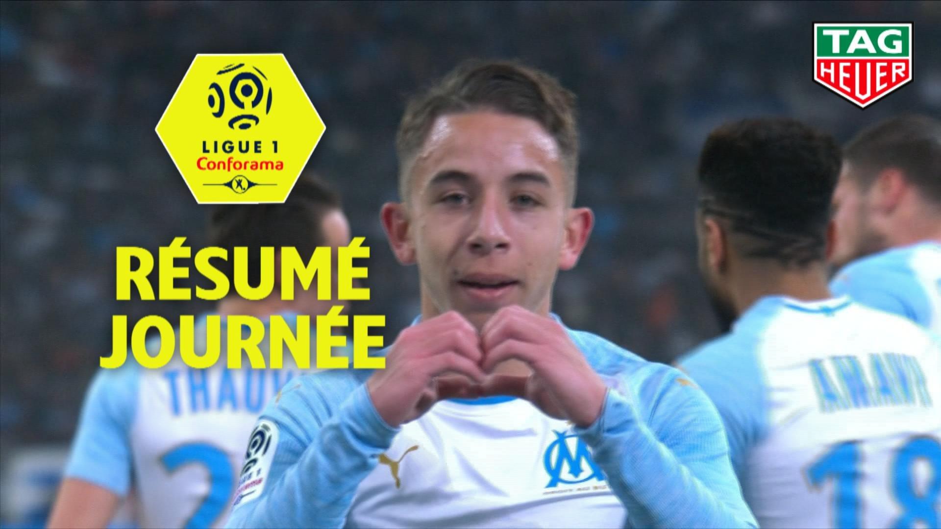 Résumé de la 20ème journée - Ligue 1 Conforama / 2018-19