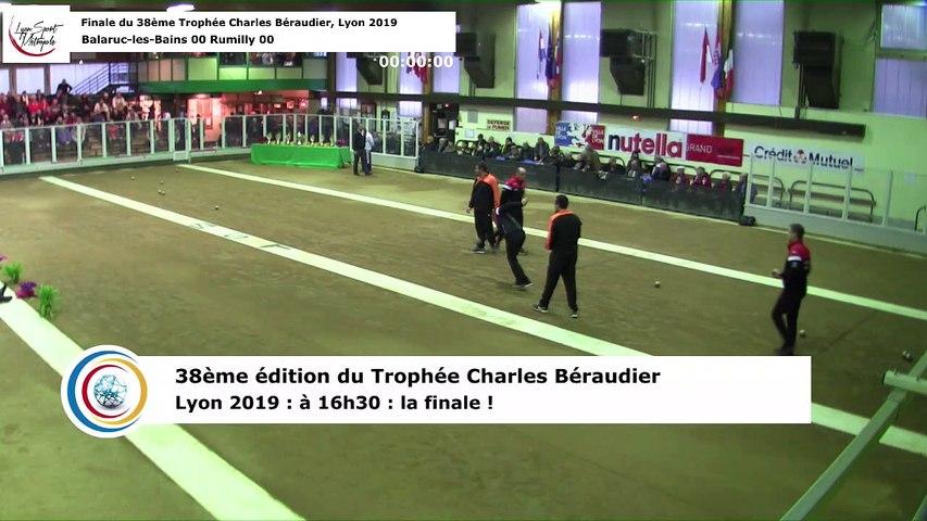 Finale, 38ème Trophée Charles Béraudier, Lyon Sport Métropole 2019