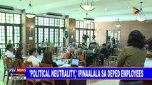 'Political neutrality,' ipinaalala sa DepEd employees
