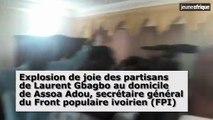 Côte d'Ivoire : des partisans de Laurent Gbagbo après la décision de la CPI de l'acquitter