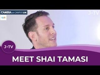 Meet Shai Tamasi - N. American TV Presenter. Israel Defender.