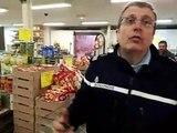 Les gendarmes de Châteaurenard s'entraînent à intervenir dans les commerces