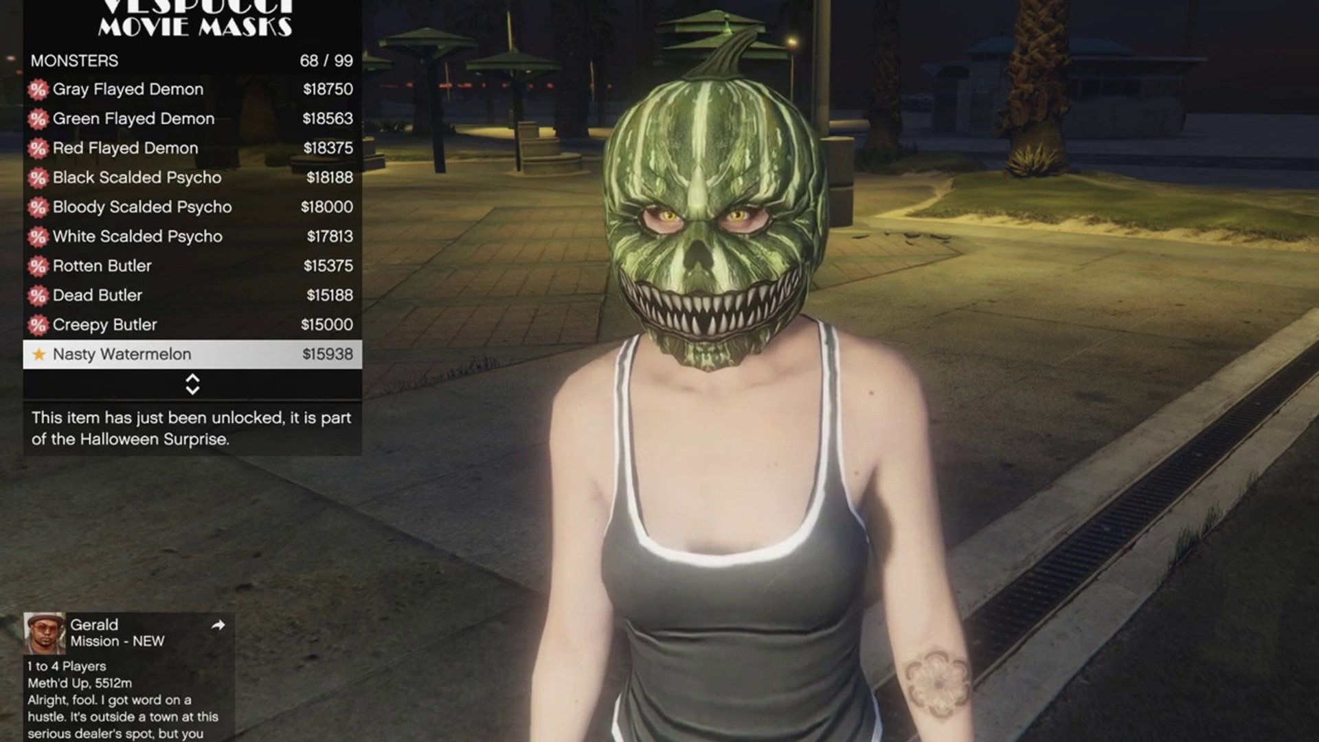 Gta 5 Online Christmas Masks.All Christmas Masks Gta 5