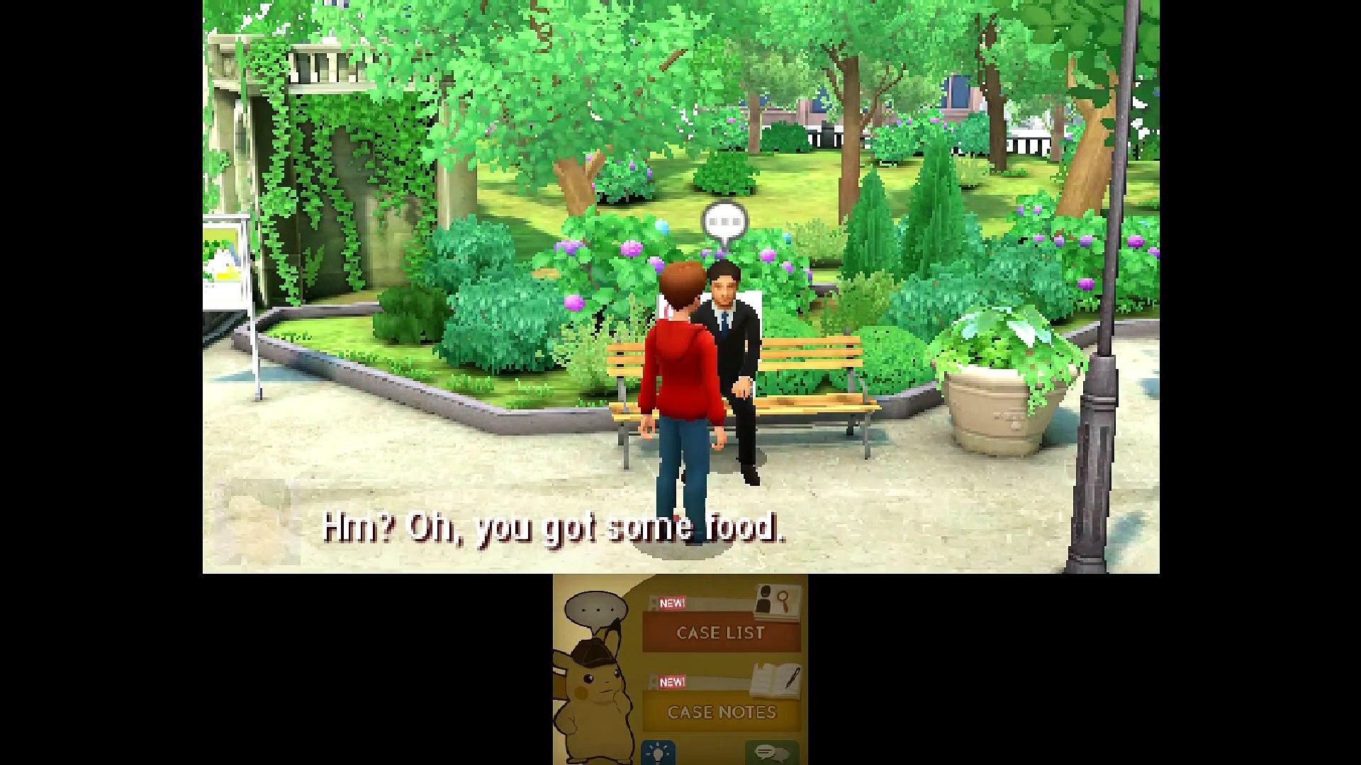 Detective Pikachu 3ds Gameplay Walkthrough Part 3 Video