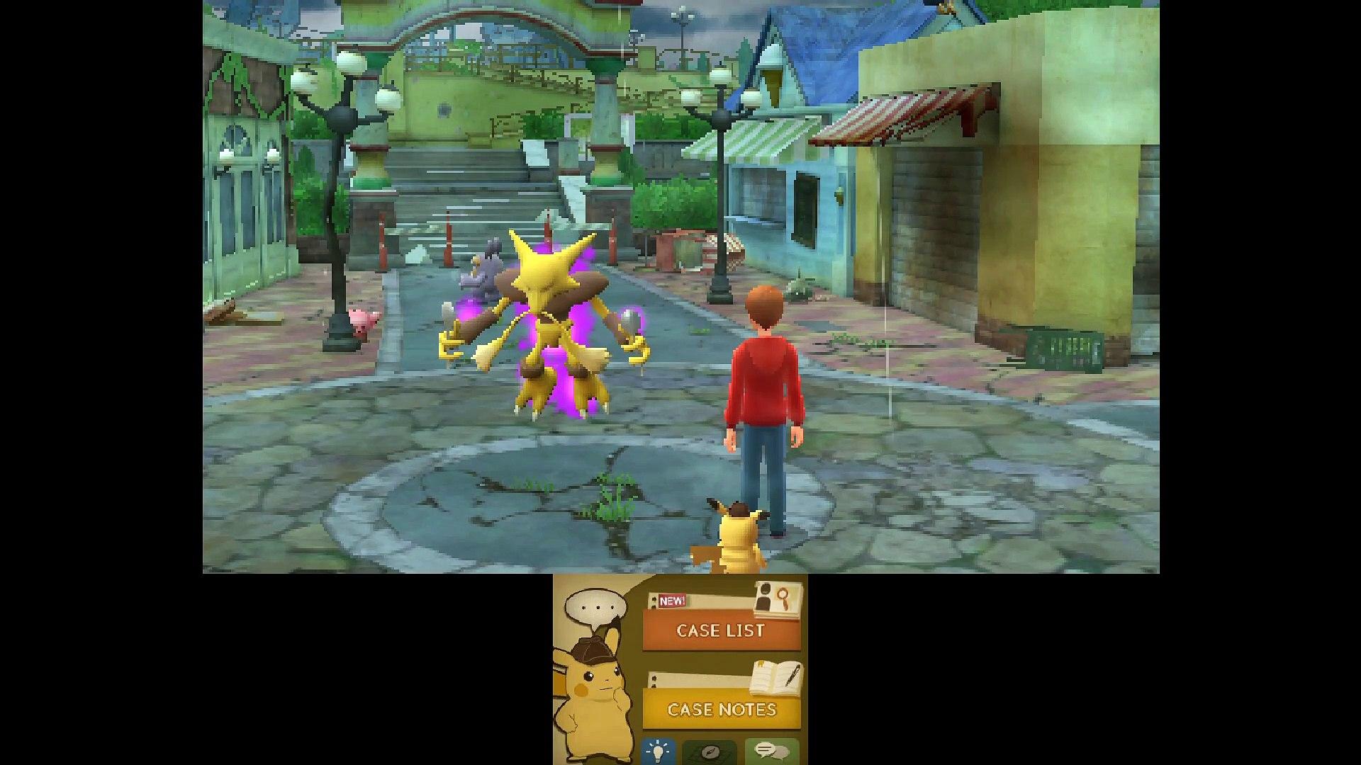 Detective Pikachu 3ds Gameplay Walkthrough Part 14 Video