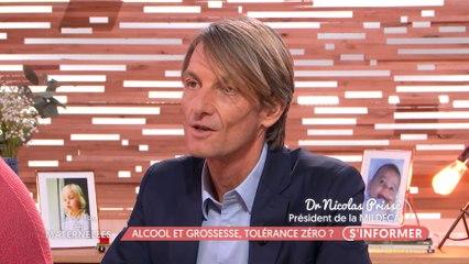 Alcool et grossesse, tolérance zéro ? | Nicolas Prisse invité de l'émission La Maison des Maternelles, France 5, 14 janvier 2019