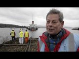 Historic paddle steamer to be transformed ahead of £1 million project | SWNS TV | SWNS TV