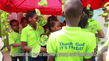 MEET MISIMI ISIMI, THE 9-YEAR-OLD ADVOCATE FOR A GREENER ENVIRONMENT