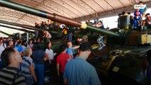 Kids get their hands on machine guns to mark Thailand's 'Children's Day'
