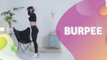 Burpees (mujer)