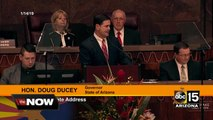Gov. Ducey calls for bipartisanship during state of state address