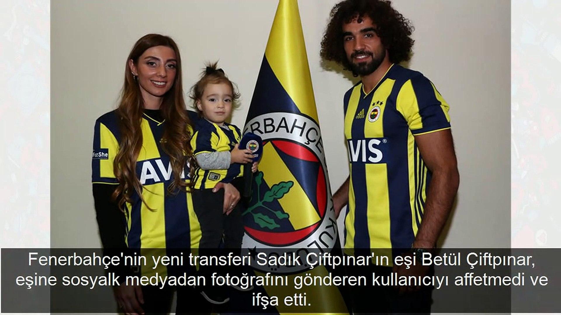 Fenerbahçe'nin yeni yengesi, eşine DM'den yürüyen kadını ifşa etti