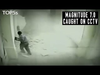 5 Most Powerful & Shocking Earthquakes Caught on Video