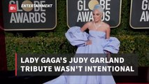 Lady Gaga Paid Homage To Judy Garland By Accident