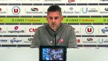 Le point presse de Jocelyn Gourvennec avant Guingamp  - Rennes