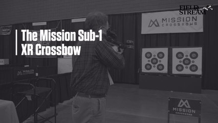 Mission Sub-1 XR Crossbow at the 2019 Archery Trade Association Show