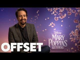 Lin-Manuel Miranda does an impression of Emily Blunt's daughter!