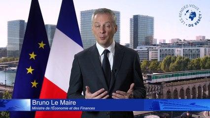 Bruno Le Maire - Présentation des Rendez-vous de Bercy 2019