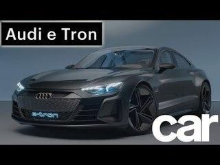 Audi e Tron GT Concept | Lowdown | Car Magazine