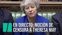 En directo: moción de censura a Theresa May