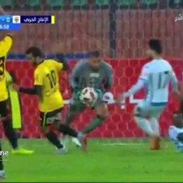 شاهد اهداف مباراة الانتاج الحربى وبيراميدز