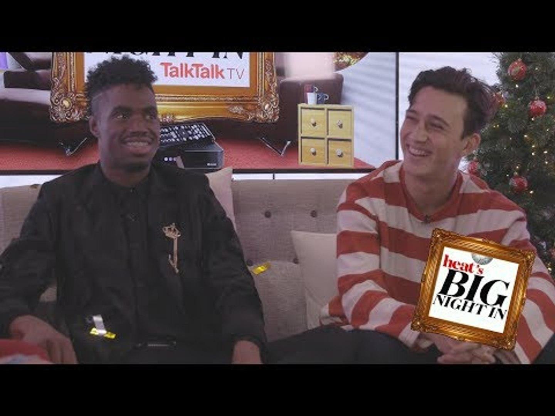 'I woke up in Louis' dressing room!' Dalton on X Factor win! heat's Big Night In with TalkTalk