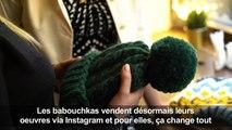 Quand tricot et internet s'allient au secours des babouchkas