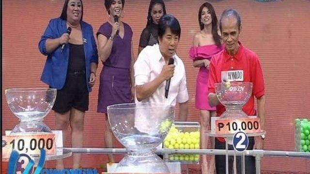 Wowowin: Willie Revillame, may pa-bonus kay Tatay Reynaldo!
