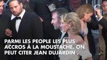 PHOTOS. Jean Dujardin, Bradley Cooper, Ryan Gosling… avec ou sans moustache, comment préférez-vous ces people ?