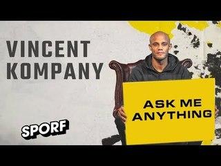 VINCENT KOMPANY | Ask Me Anything | SPORF