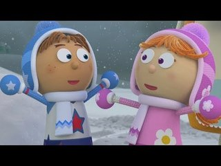 Snow Time! ⛄ - Tickety Toc FULL EPISODE on ZeeKay Junior