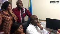 Présidentielle en RDC : comment Félix Tshisekedi a vécu l'annonce de sa victoire provisoire