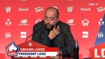 Gérard Lopez sur Thiago Mendes