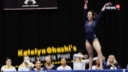 Video of UCLA Gymnast Katelyn Ohashi Goes Viral