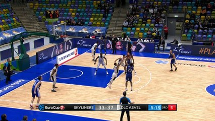 7Days EuroCup Highlights Top 16, Round 3: Skyliners 58-70 ASVEL